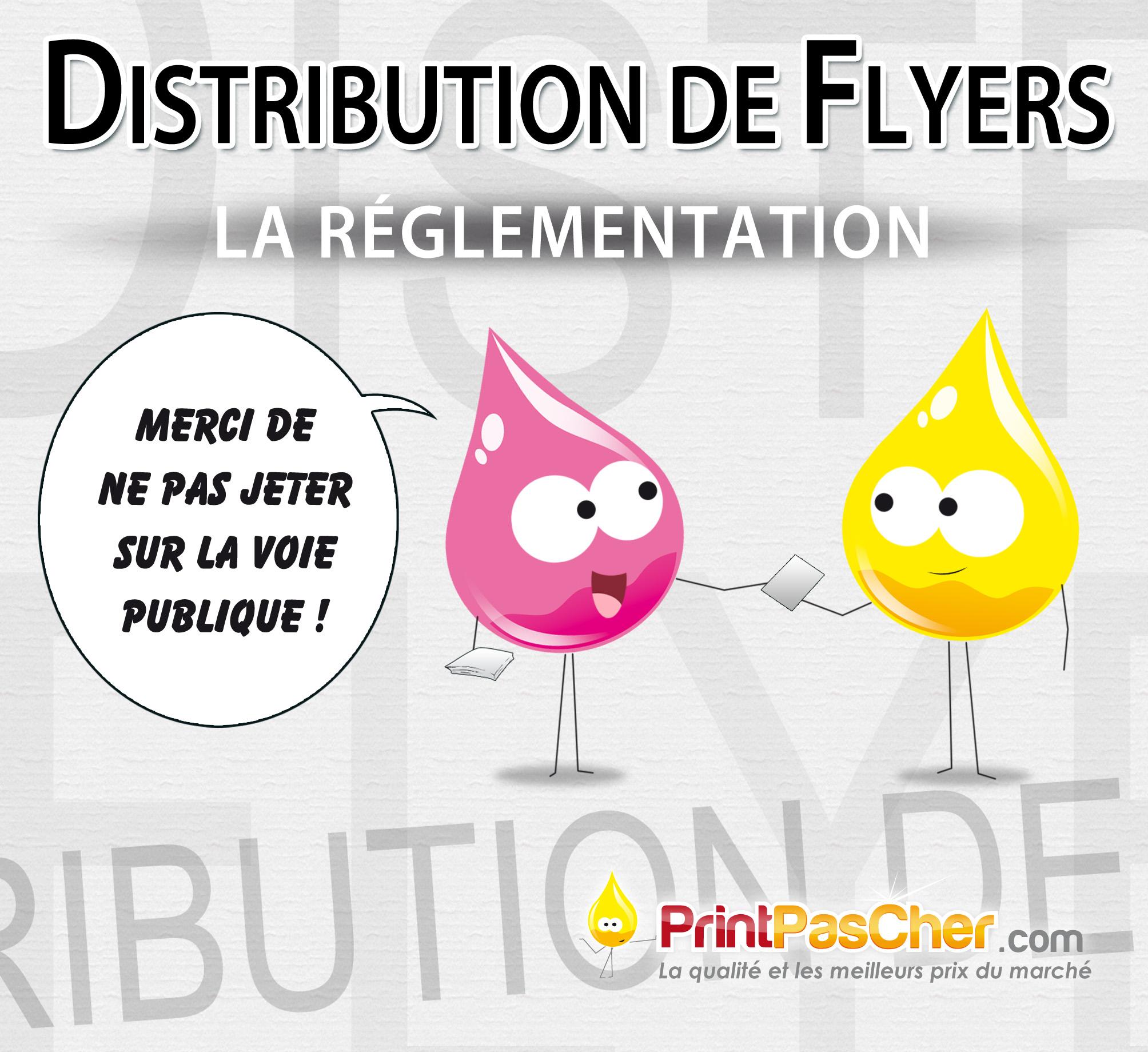 flyers reglementation