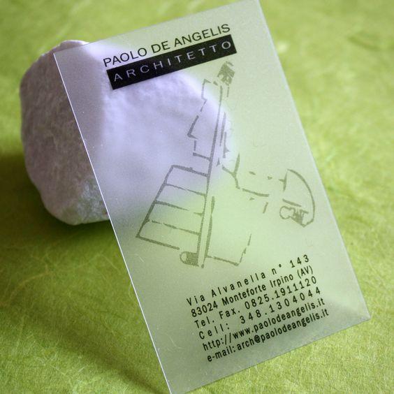 Carte De Visite Pvc Architecte