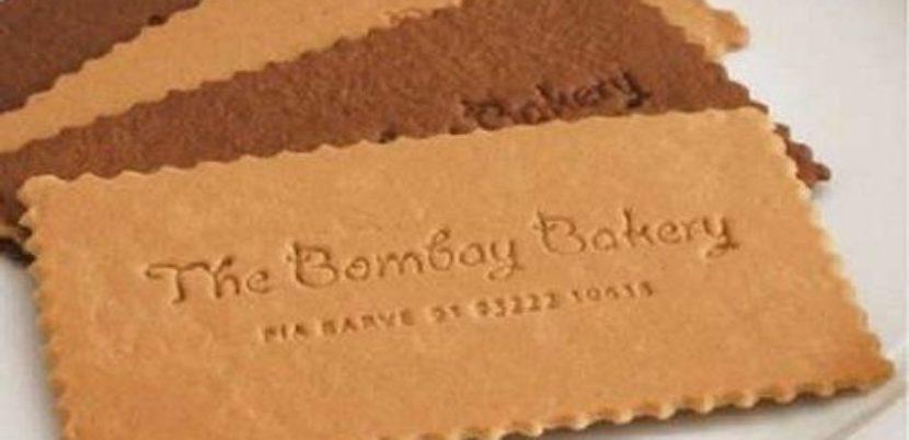 carte de visite originale en cuir