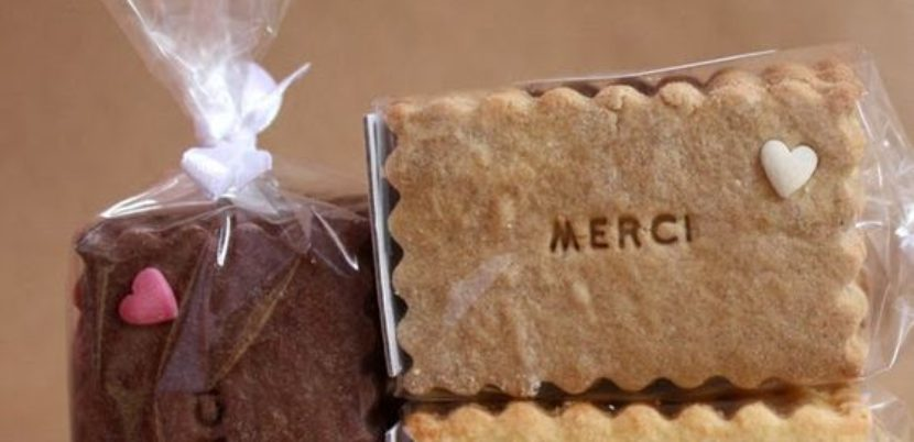 biscuit personnalisé