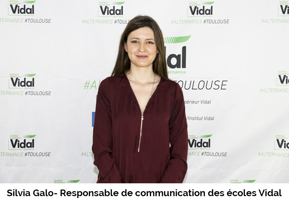 Silvia Galo- Responsable de communication des écoles Vidal