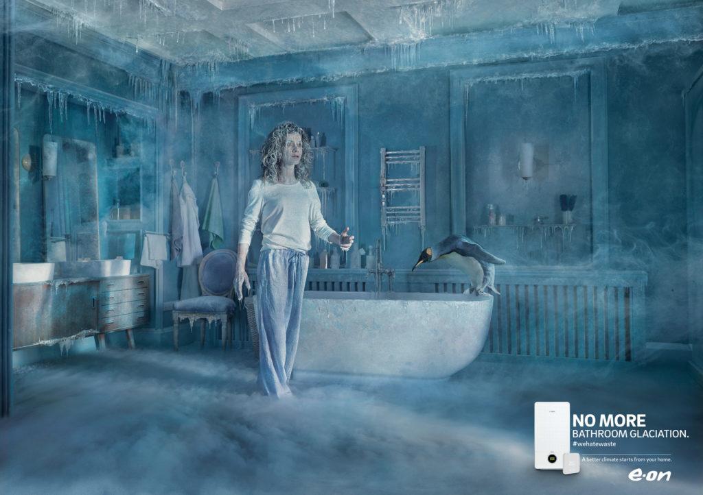 affiche E.ON ClimaSmart – Bathroom