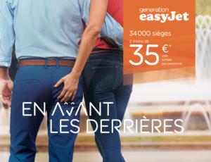 campagne affichage easyjet 2018
