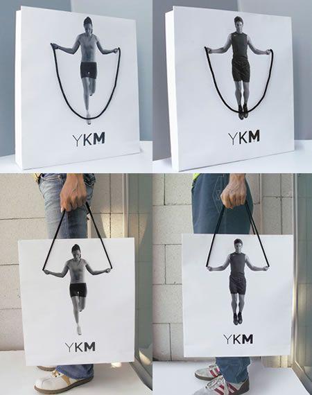 sac en papier original & sportif