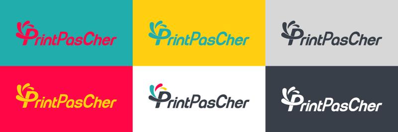 déclinaison nouveau logo printpascher
