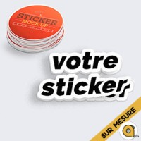 Sticker sur mesure