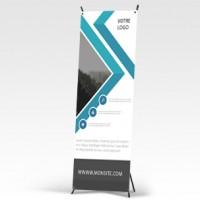 X-banner 80 x 200 cm