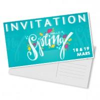 Carte postale maxi 125 x 235 mm