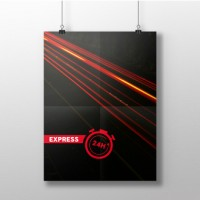 Affiches - Express 24h
