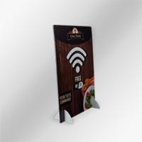 Chevalet carton personnalisable