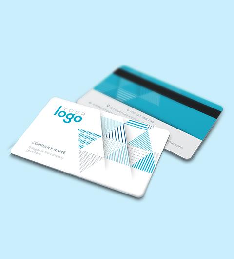 Badge PVC bande magnétique