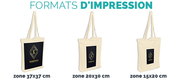 zones impression tote bag