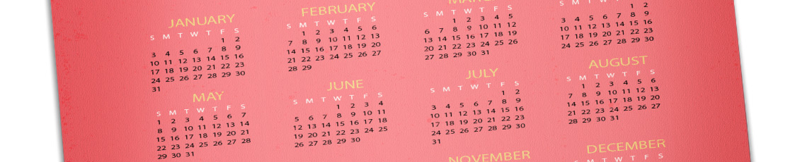 options finitions calendrier