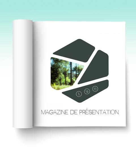 Magazine 210 x 210 mm