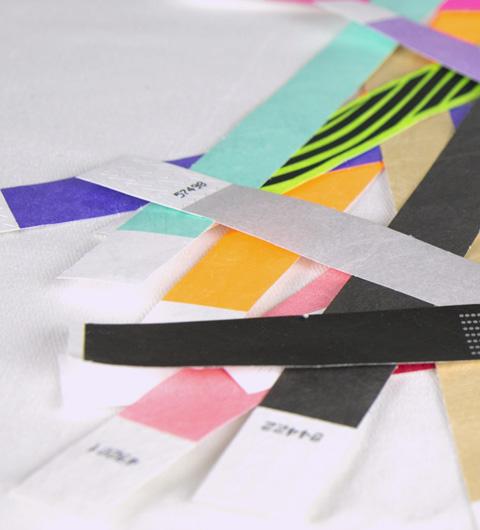Bracelet Tyvek une couleur