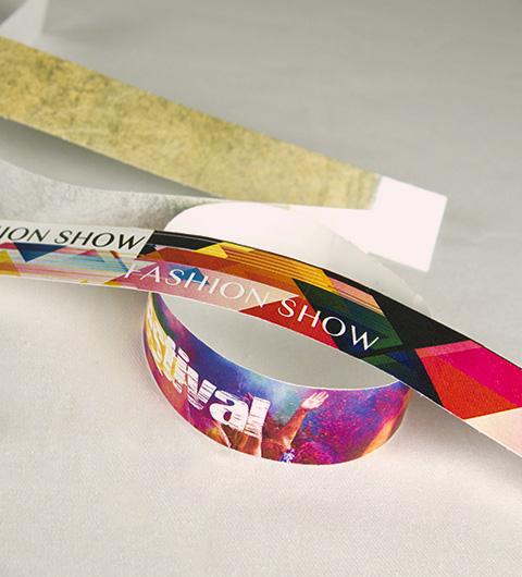 Impression bracelet quadri