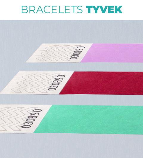 bracelet tyvek sans impression