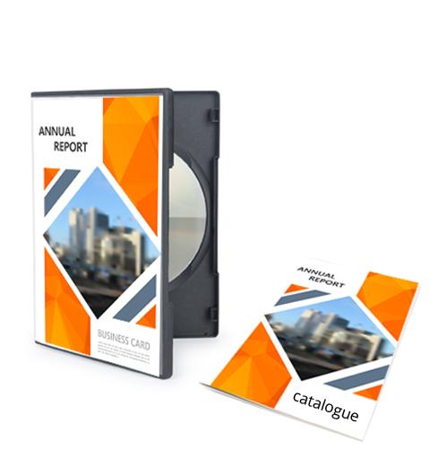 Brochure 120 x 180 mm (DVD)