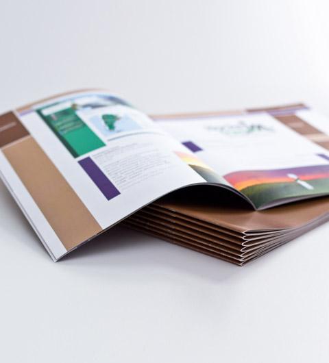 Impression brochures petites quantités