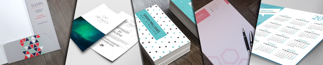 Impression supports de communication petits formats papier