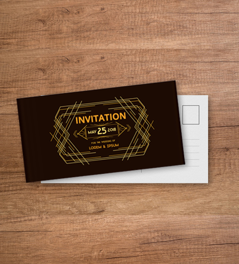 Carte postale 105 x 210 mm DL