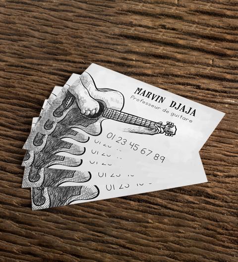 carte de visite pas cher