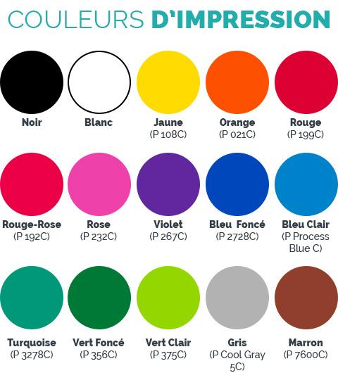 Personnalisation du gobelet couleur