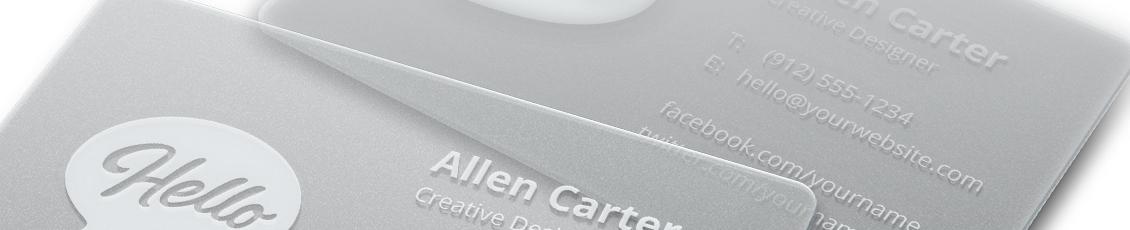 Carte PVC Plastique Personnalise