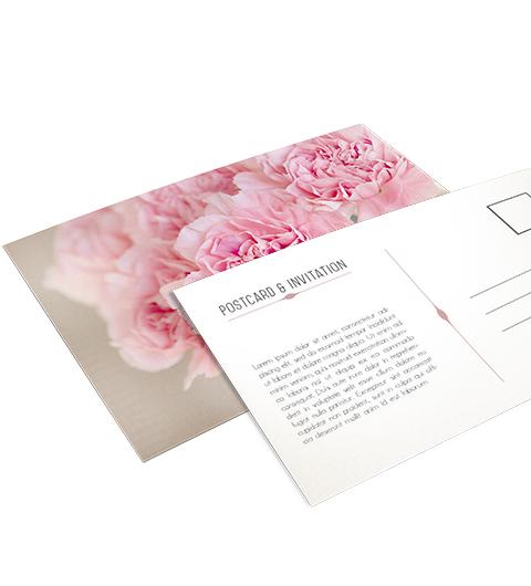 Impression carte postale