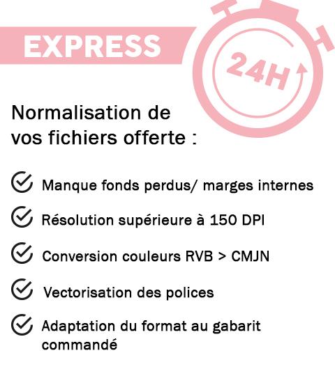 Dépliant Express 24h