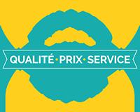 meilleur rapport qualité prix service