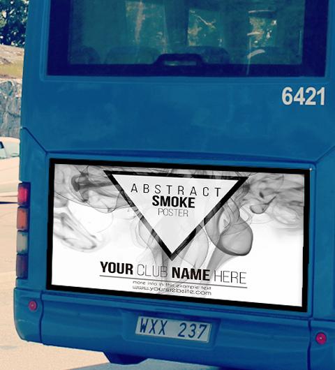 affiche autobus