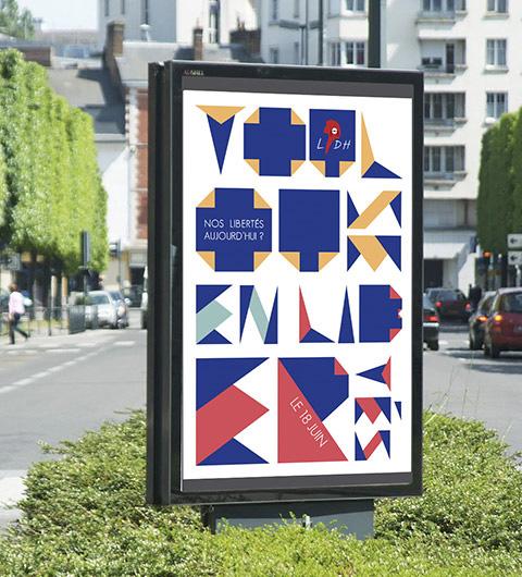 affiche panneaux urbains