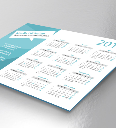 informations calendriers rigides